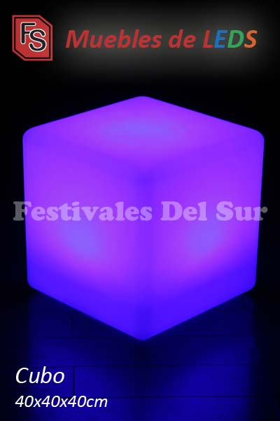 Cubos LED