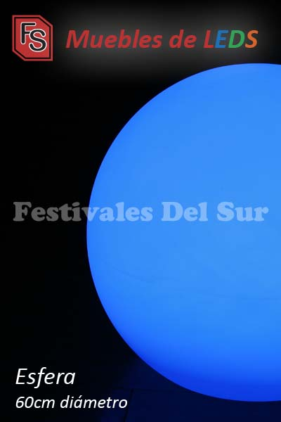 Esferas LED de 60 cm