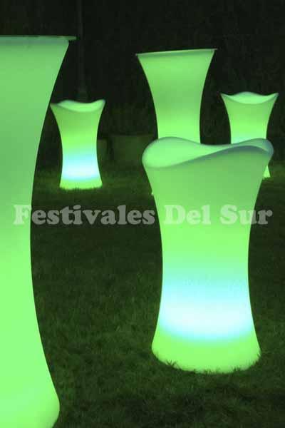 Taburetes de LED