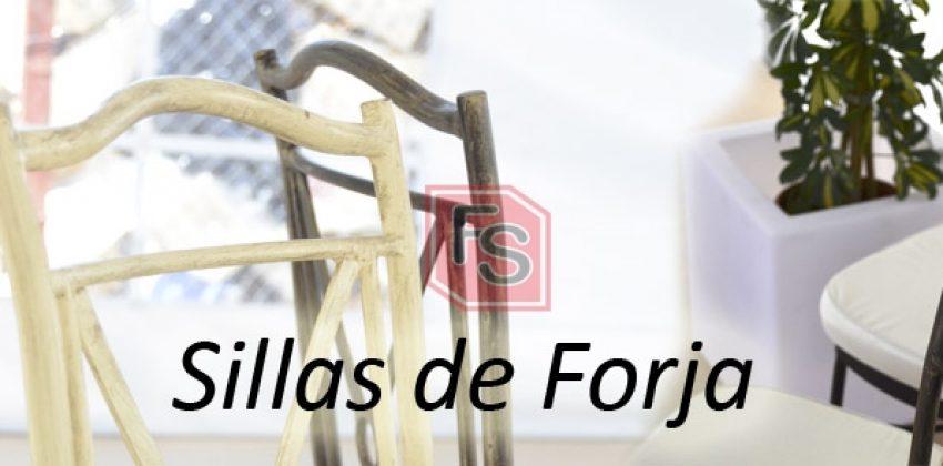 Nueva silla de forja tambien disponible para la venta