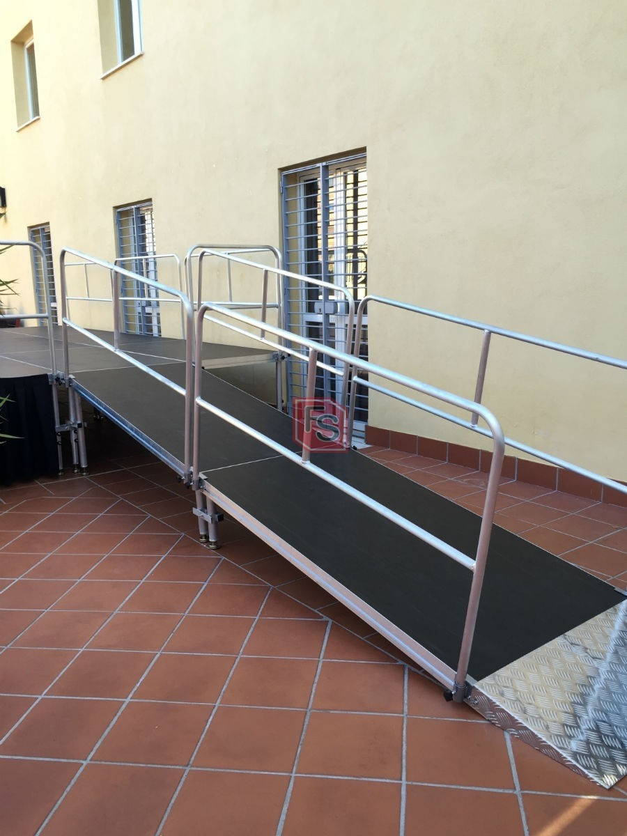 Escenario para discapacitados
