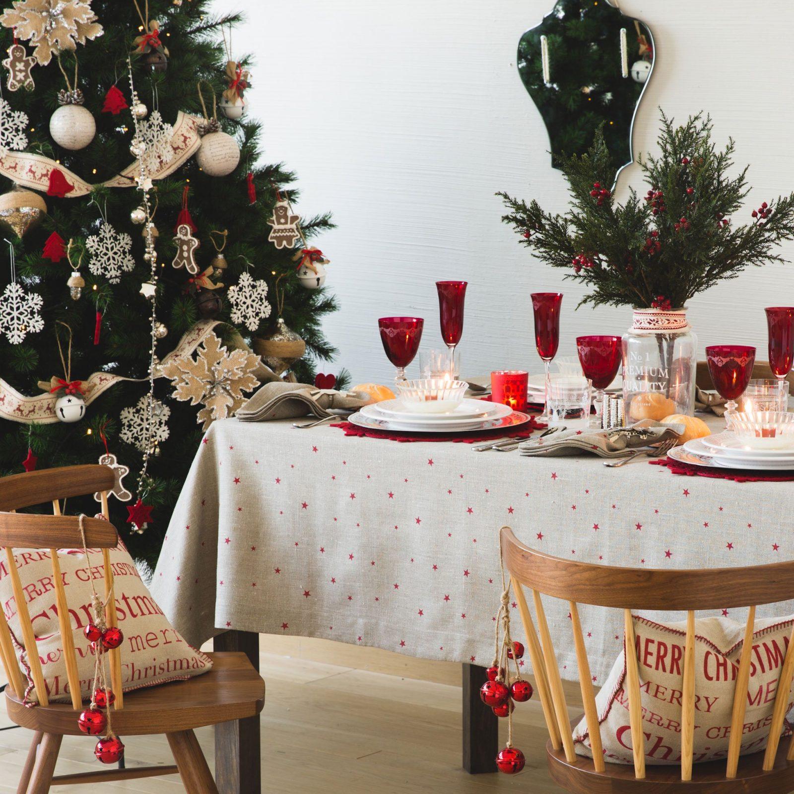 Ideas para decorar tu mesa en navidad festivales del sur - Ideas para decorar la mesa de navidad ...
