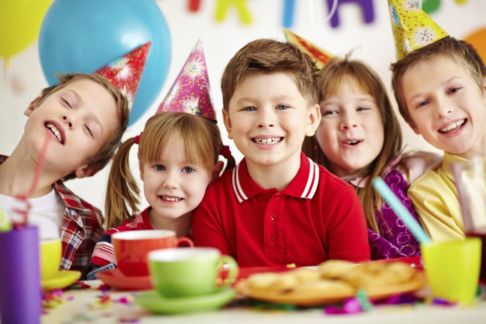 Un cumpleaños infantil