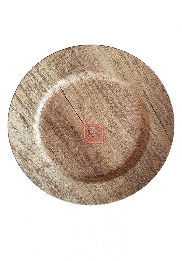 Bajoplato Pvc madera