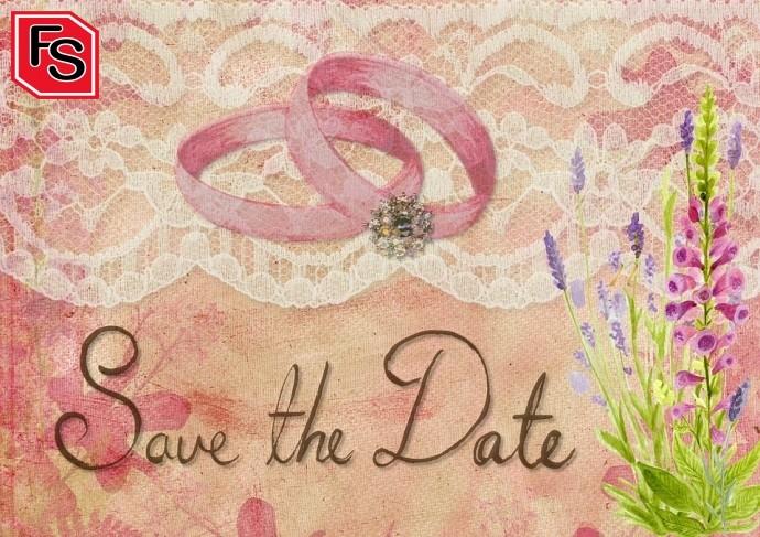Invitaciones para bodas en verano.