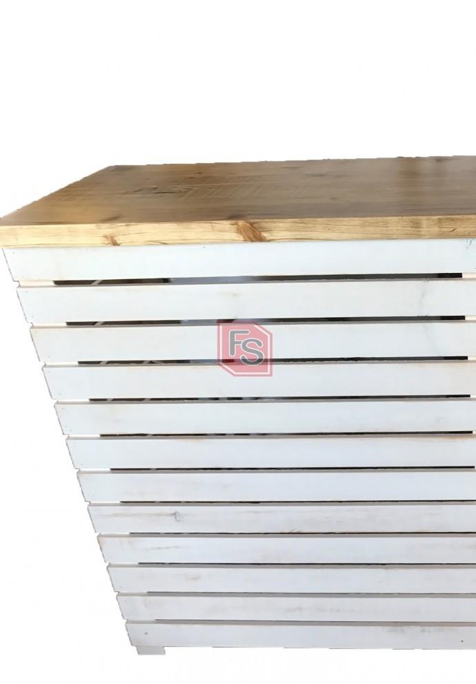 Mostrador madera vintage