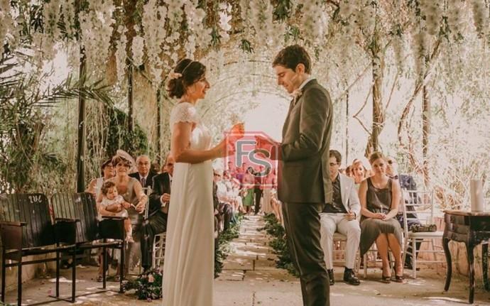 Boda civil. Fuente foto: Lucía se casa.