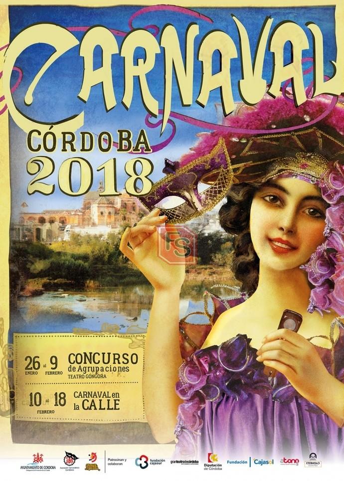 Cartel del Carnaval de Córdoba 2018