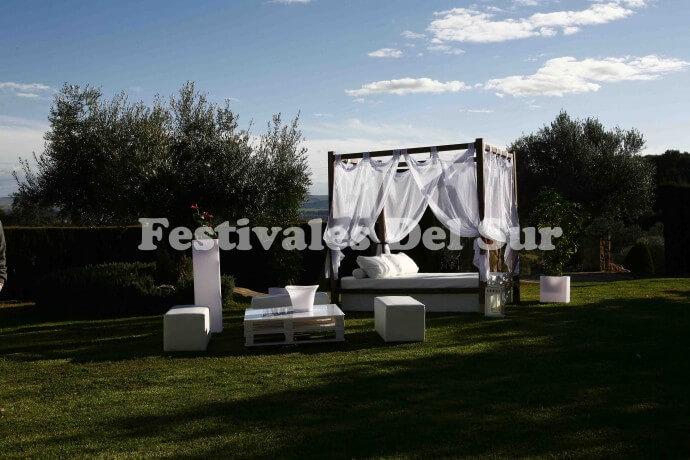 Decoración de fiestas veraniegas - Festivales del Sur