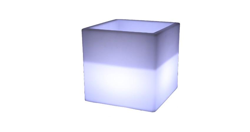 Cubo Abierto LED