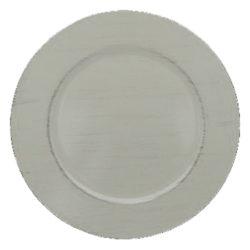 Bajo Plato PVC Blanco