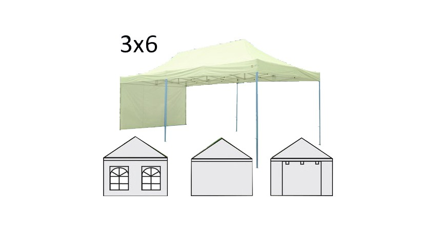 Gazebo Plegable 3×6 M