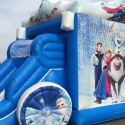 Castillo Carroza Frozen