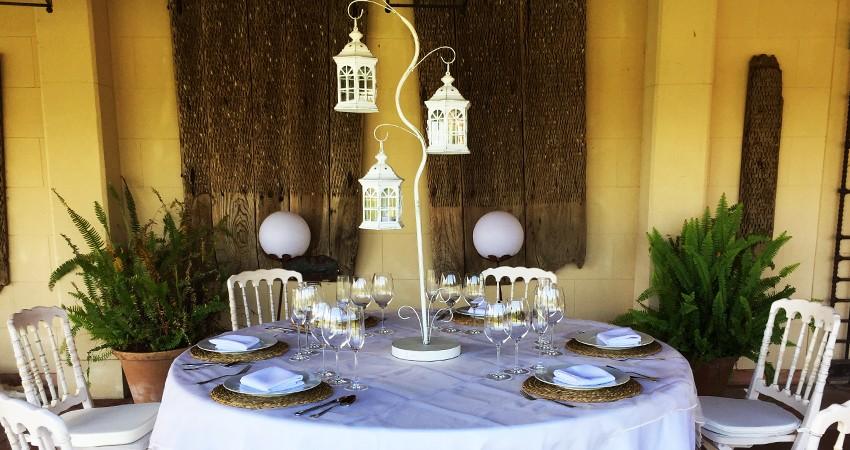 Centros de mesa para tu boda. Tendencias 2020 - Festivales del Sur