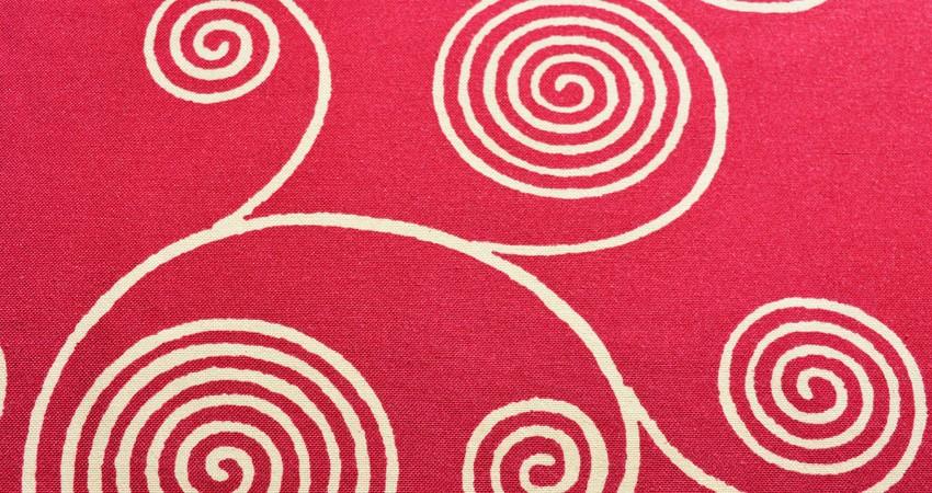 Cubre Espiral Tinto
