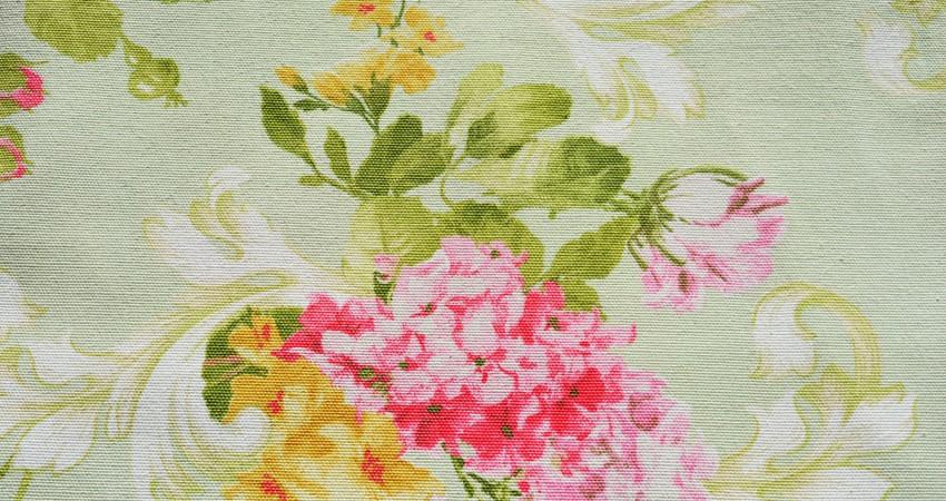 Mantel Flores Manzana