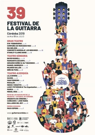 Crónica de una guitarra: 39 Festival de la Guitarra de Córdoba - Festivales del Sur
